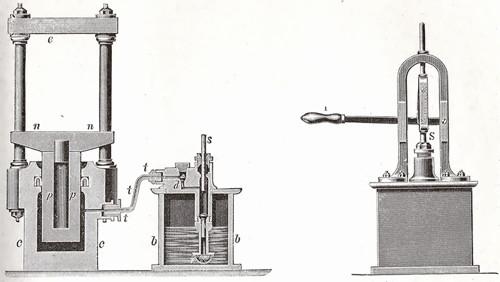la prensa hidráulica y su historia